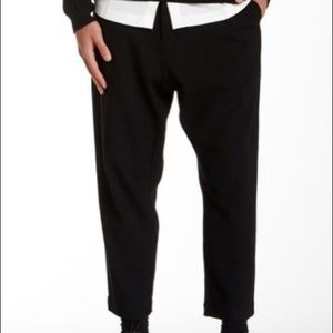 Ch Chapter Zippered Leg Drop Crotch Crop Pants
